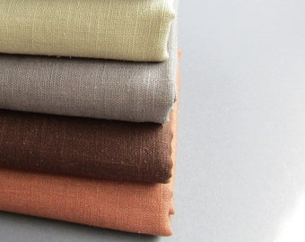 100% Linen cushion pillow covers, 26 colours , handmade in Germany,