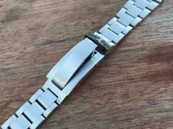 ROLEX 21mm solid stainless steel bracelet Rolex wa