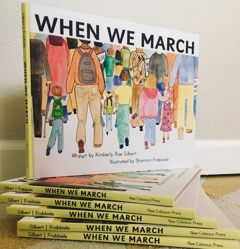 Social justice picture book for activist kids: Gift & resist image 0