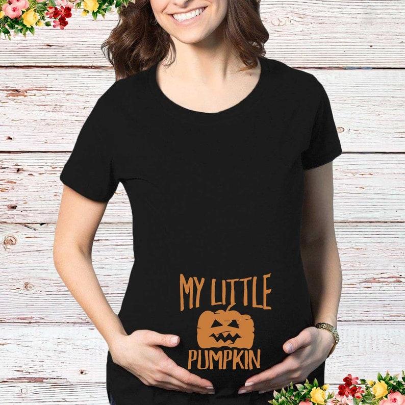 T-shirt blanc pour femme enceinte spécial halloween| A découvrir sur le blog : keepcoolnewmom.com