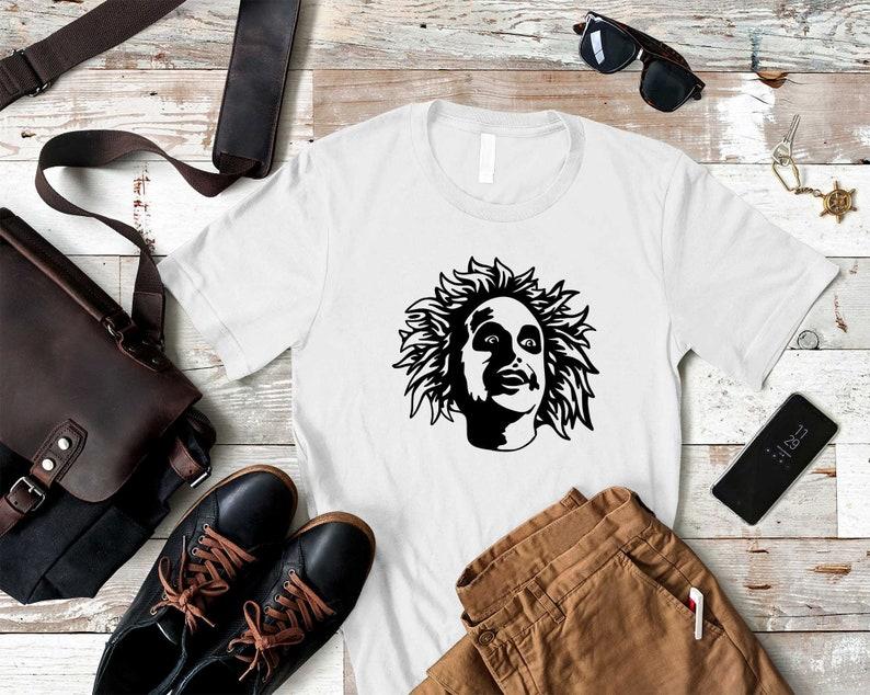 Scary Killer Shirt Halloween Killer Movie Shirts Horror Movie Shirts Scary Halloween Tees Beetle Juice Inspired Halloween T-Shirts