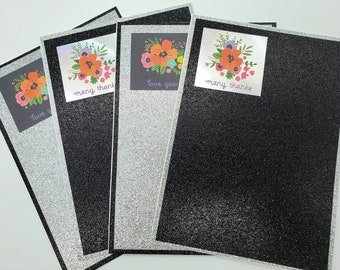 Wife 4 Pack Variety w Multiple Designs Be Mine Anniversary Handmade Card Set Husband Boyfriend Girlfriend Gift for Best Friend