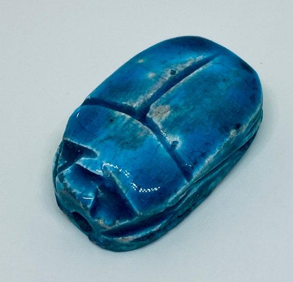 Originally , Egyptian Scarab Pendant, Turquoise