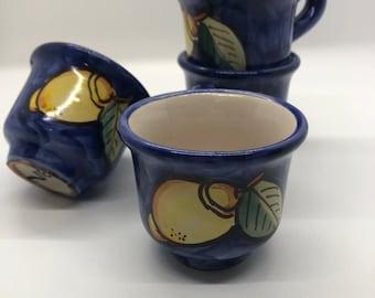 Espresso Cup Set Italian Ceramic
