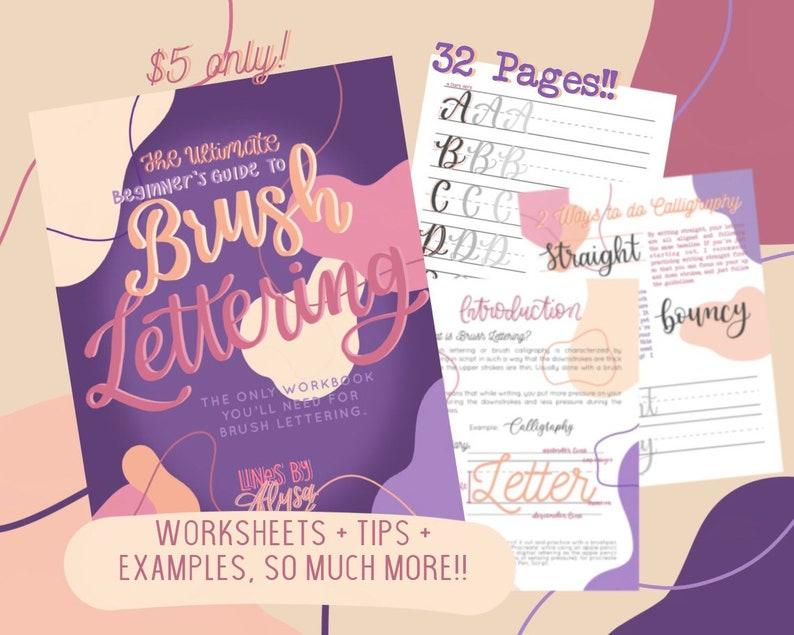 The Ultimate Beginner's Guide to Brush Lettering Brush image 0