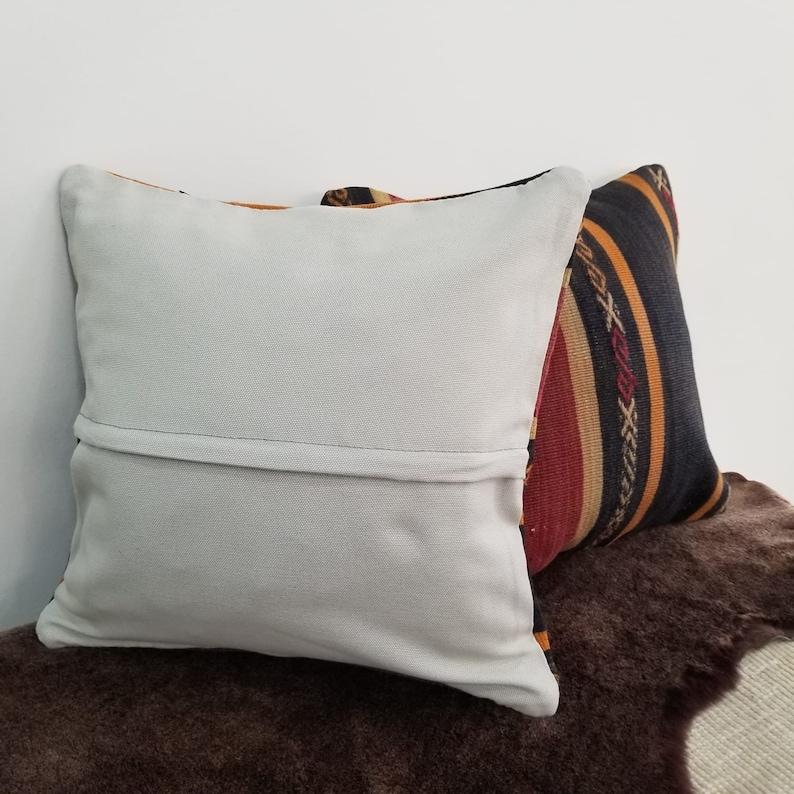 kilim pillows,kilim,vintage,anatolian,bed pillow handknotted,decorative pillows,40x40 cm pillow Two pieces 16/'/'x16/'/' Turkish pillow,unique