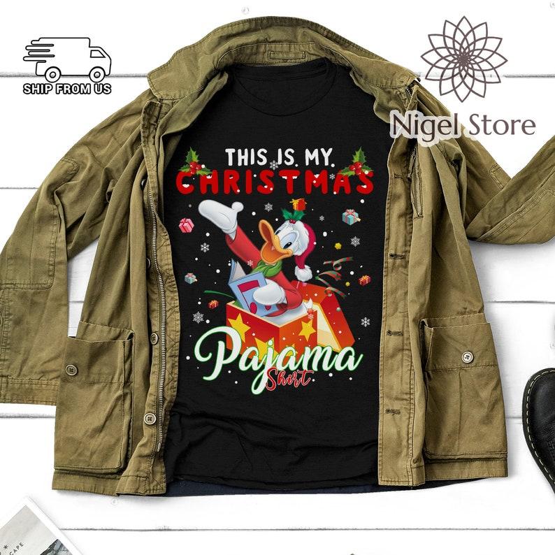 Christmas Xmas Gifts This Is My Christmas Pajama Shirt Funny T Shirt Donald T Shirt