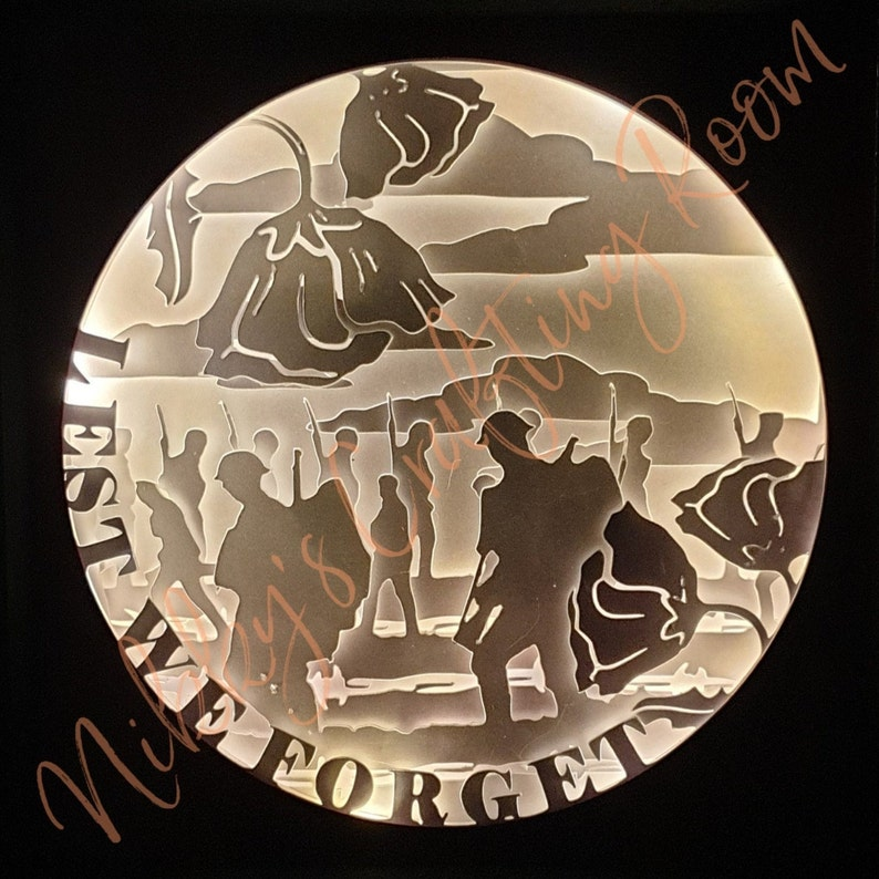 Commercial Use Digital Download Files Poppy Military Passing Out,png,dxf Cricut Army Remembrance 3D Shadow Box svg,Light Box Template
