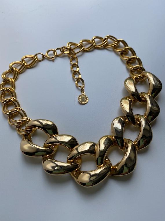 Rochas chain necklace