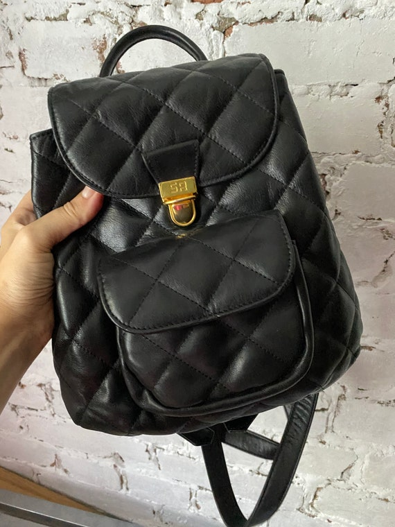 Rykiel quilted backpack