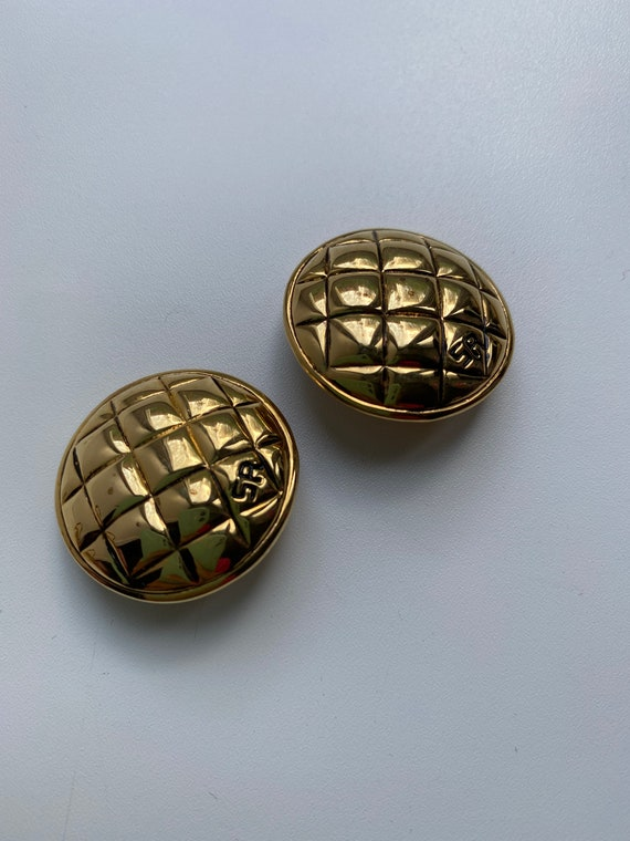 Rykiel clip on earrings