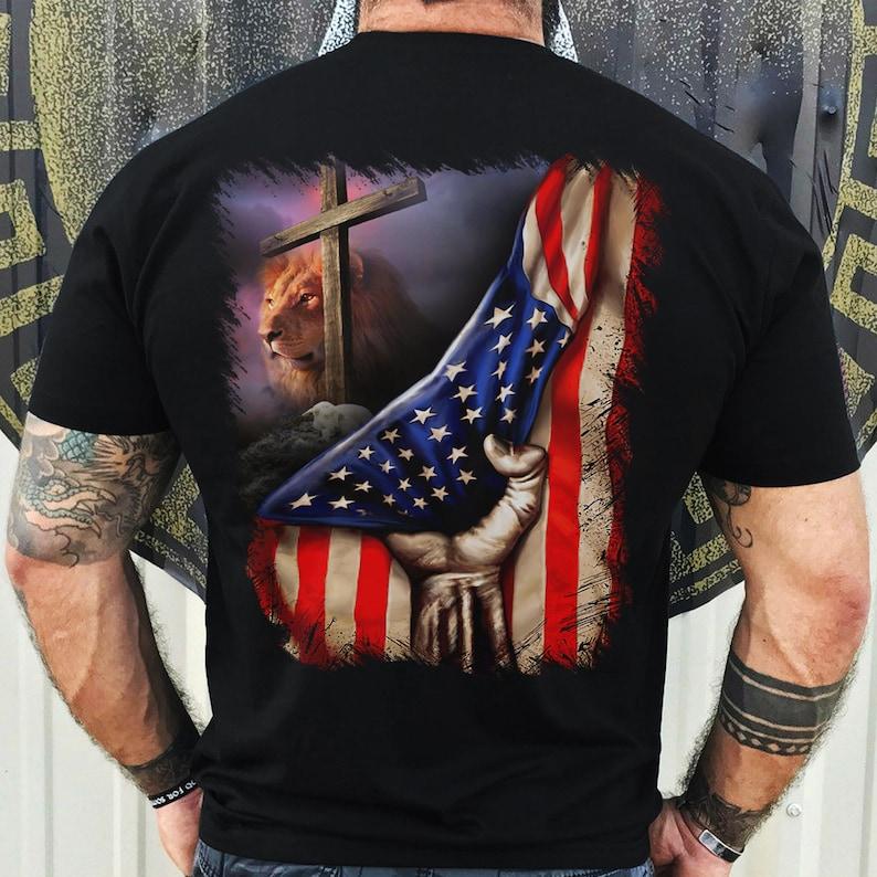 Jesus Lion And Lamb T-Shirt Masswerks Store