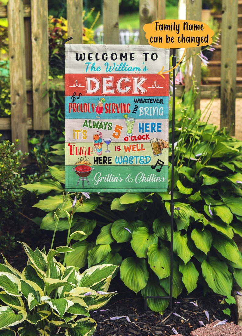 Gearhuman – Personalized Outdoor Party Decorations Backyard Party