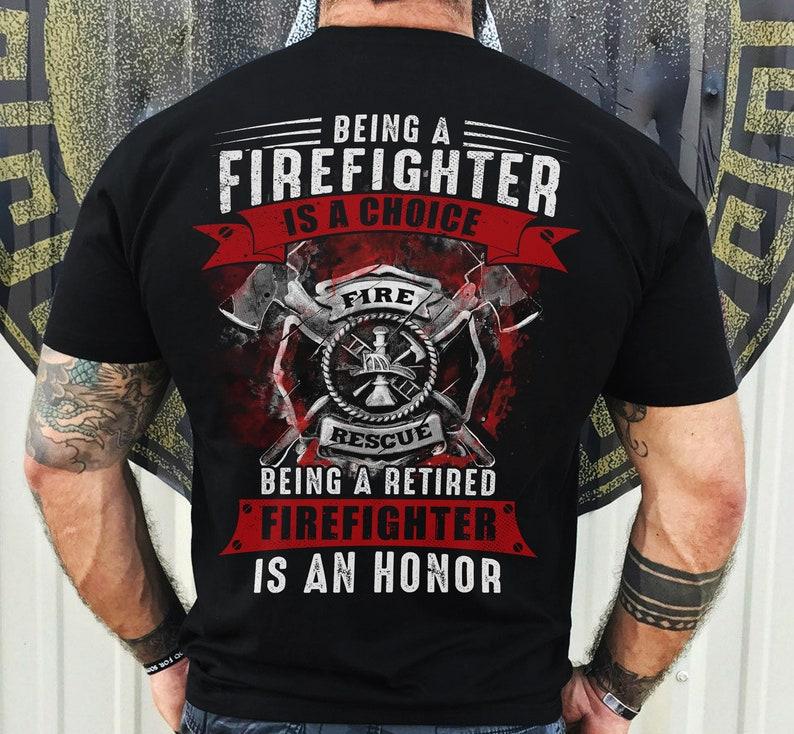 Firefighter Emblem Shirt Masswerks Store