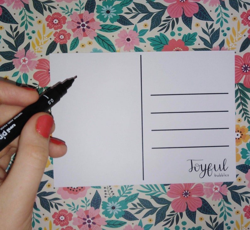 Postcard Collection Thoughtful Notes Pack of 5