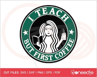 Teacher Coffee Svg Etsy