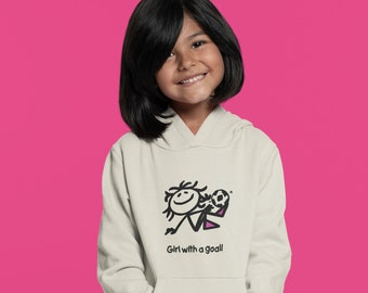 Girl with a Goal! Youth Hoodie