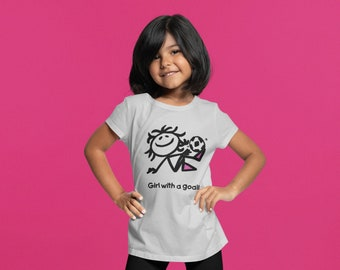 Girl With A Goal Youth T, Girl Power