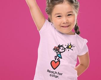 Reach For A Star Toddler T Shirt