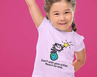 This Girl Can! Reach for a Star Logo Toddler T