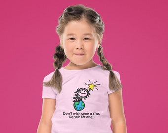 Don't Wish Upon A Star...Reach For One Youth T-Shirt