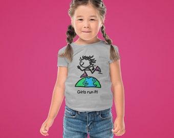 Girls Run It! Toddler T Shirt