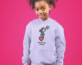 Reach For a Star Youth Hoodie