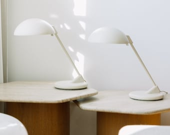 1 of 2 geometric Pop Art desk lamp in Postmodern Memphis Style 80s 90s
