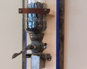 Antique, Wall Hung Coffee Grinder