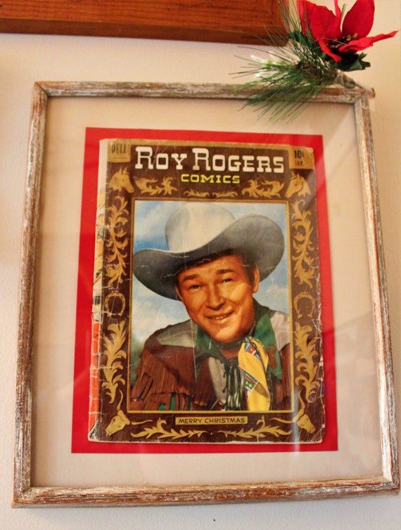 Roy Rogers Framed Dell Comic Book
