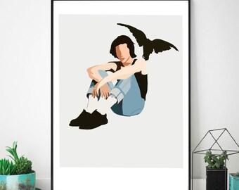 Conan Gray Heather wall print