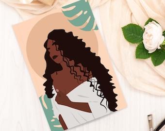 Black Woman Journal   Etsy