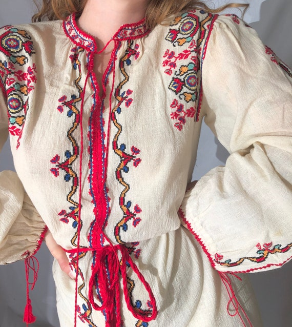 1970's vyshyvanka dress