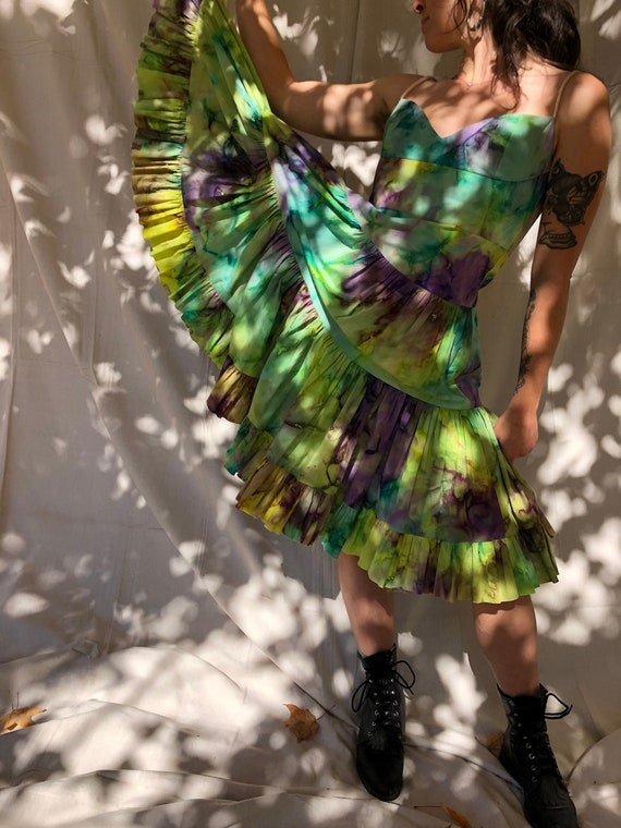 Tracy Feith tie dye dress