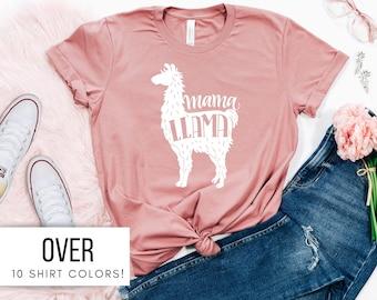 mama llama shirt