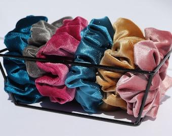 Scrunchies - Velvet Collection