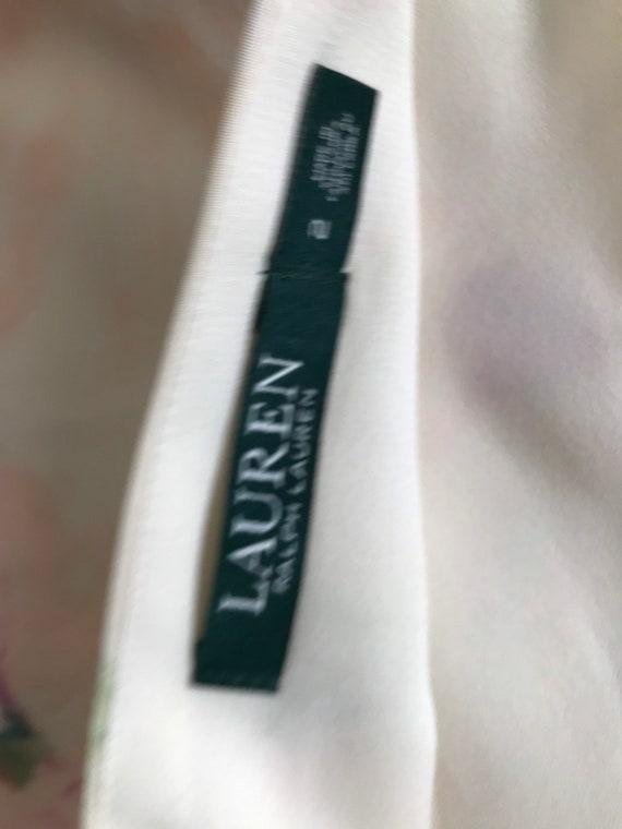 Ralph Lauren Skirt Serape, Wrap Skirt, Floral, Fr… - image 6