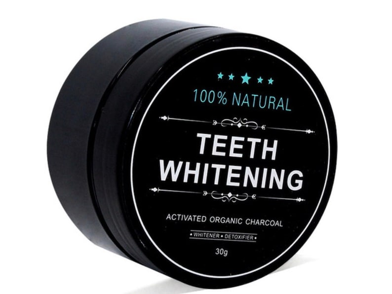 Natural Toothpaste  Teeth Whitening  Organic Charcoal image 0