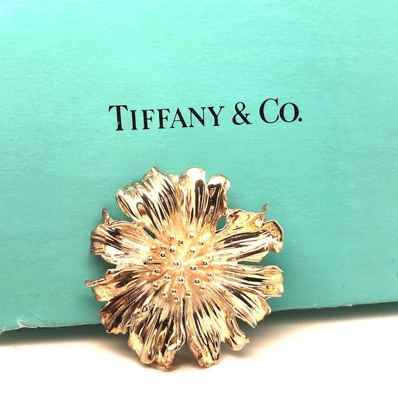 Tiffany & C0. Marigold Sterling Silver Flower