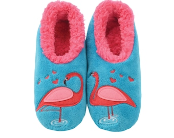 Giraffe Pairables Womens House Slipper Socks Snoozies Womens Slippers