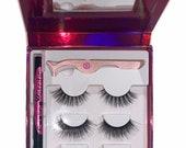 Rockstar self-adhesive magic eyeliner eyelash kit