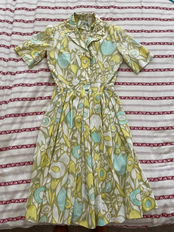 50's swing dress - image 4