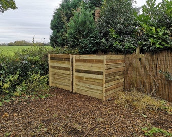 Heavy Duty Wooden Composting Bin