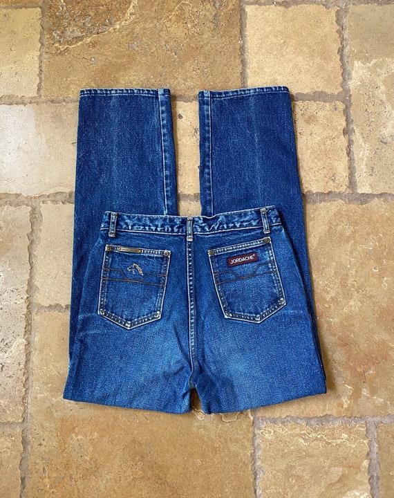80s Jordache Dark Wash Jeans 25/26W
