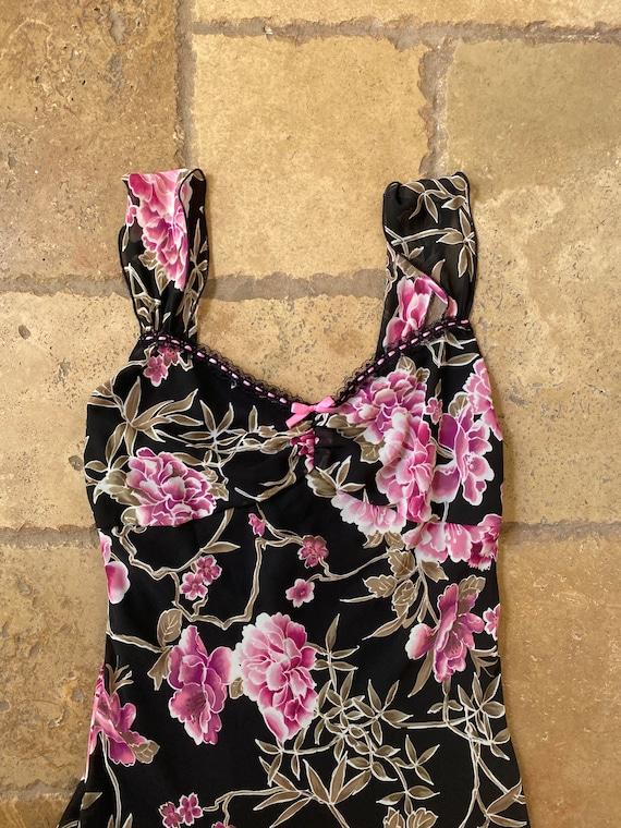 1980s Midi Floral Dress - image 7