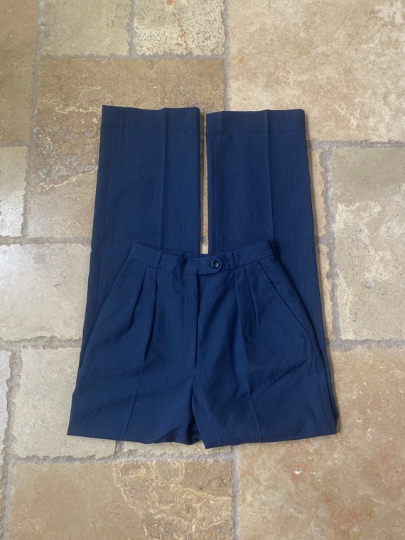 Tailored High Waisted Trousers 24W