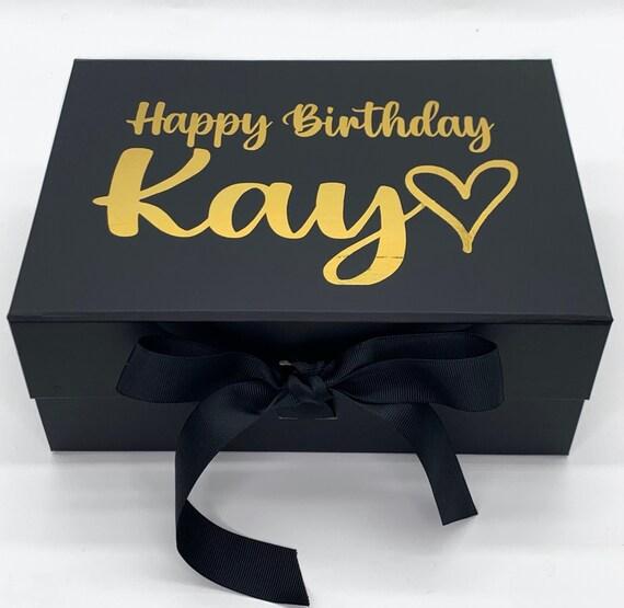 Luxury Personalised Gift Box Mum Baby Friend Bridesmaid Birthday