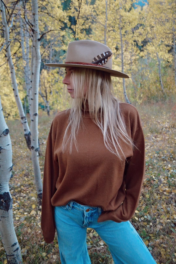 Vintage Sienna Relaxed Turtleneck