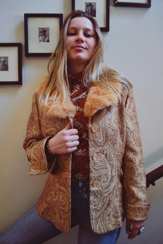 1960s Paisley Jacket - image 1