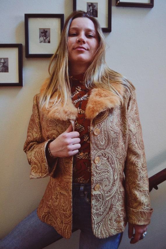 1960s Paisley Jacket